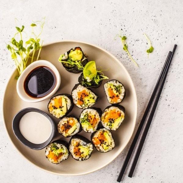 2 Vegan Sushi Recipes So Good, You Won't Miss Fish