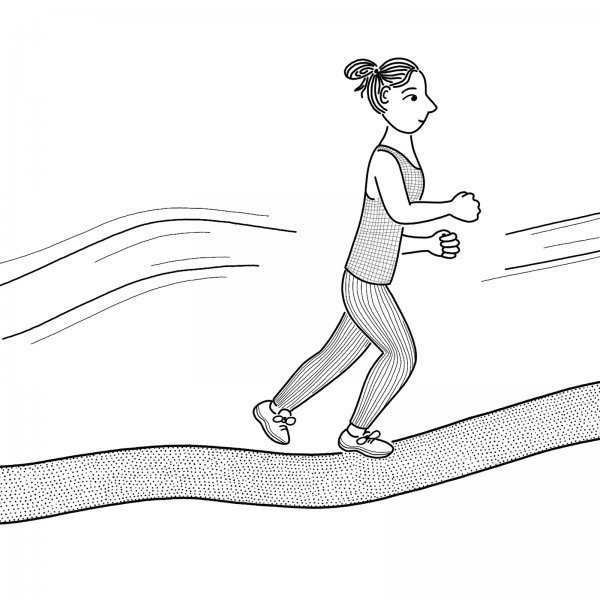 Every Woman Runner Knows the Man Who Won't Be Passed