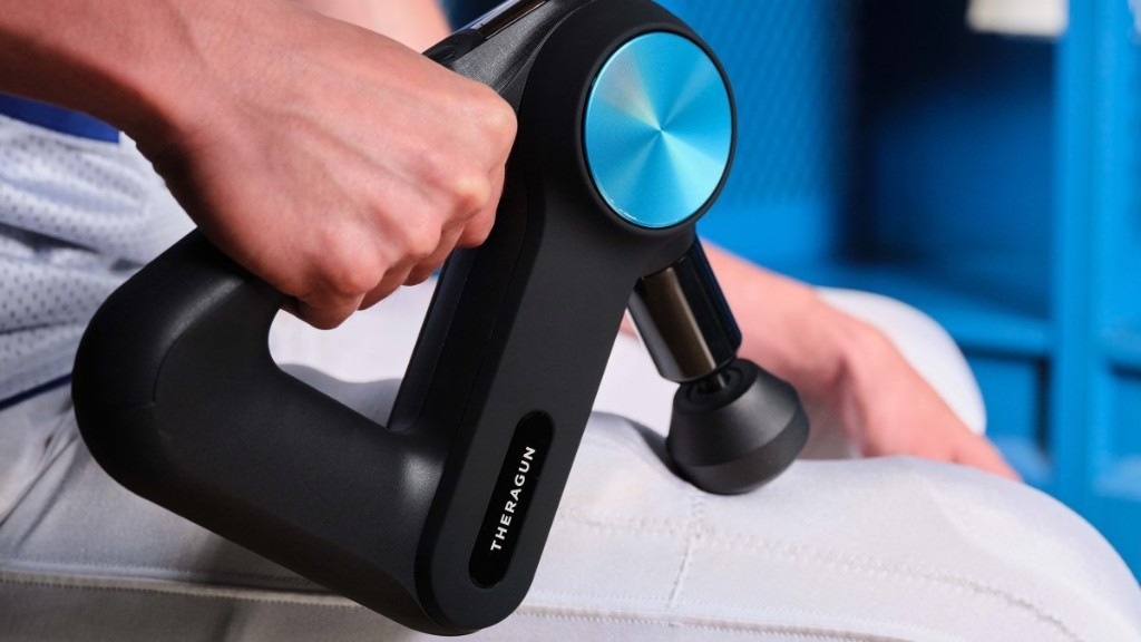 Your Dad's Back Hurts. Delight Him with a Massage Gun.