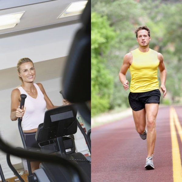 Elliptical vs. Running: Same Workout?