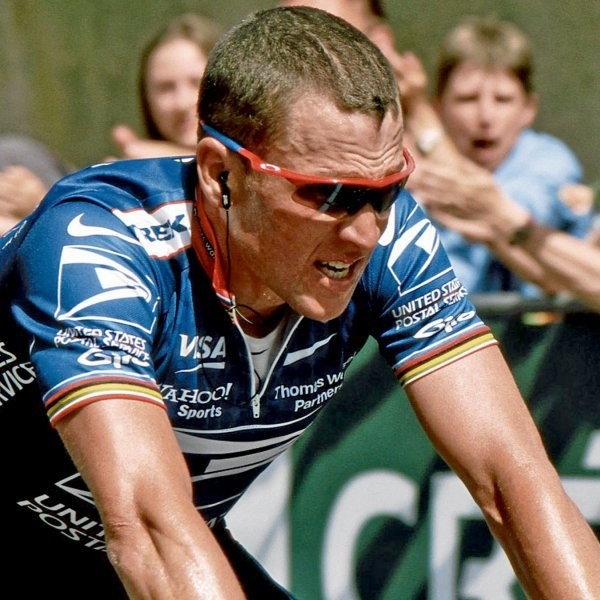 Lance Armstrong Can't Ride With Hincapie