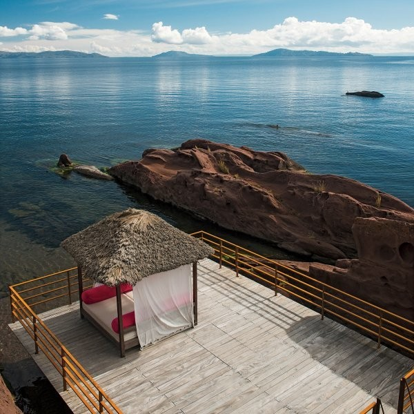 God's Country: Lake Titicaca