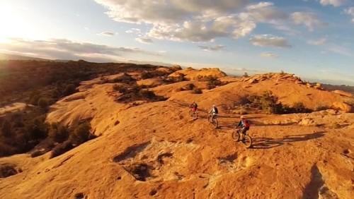 Fat Bikes Ride Moab, Utah