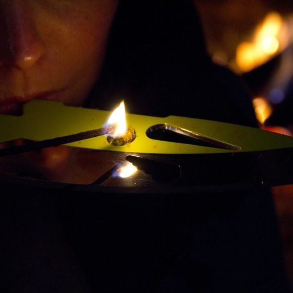 This Throwing Knife Doubles as a Marijuana Pipe