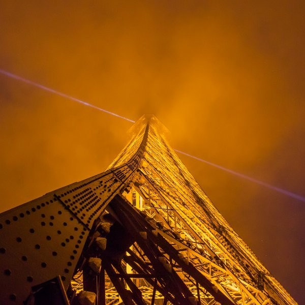 A Climber Scaled the Eiffel Tower