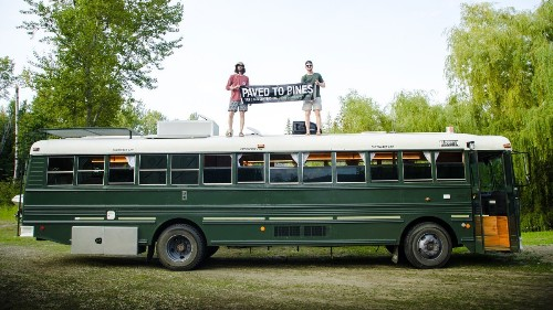 These Guys Will Help You Do #Vanlife in a School Bus