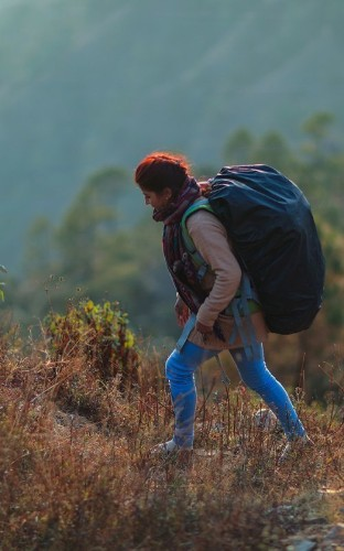 The Nepali Women Who Deliver Birth Control by Hiking