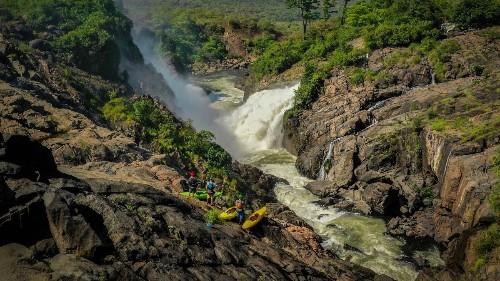Whitewater Kayaking Through Angola