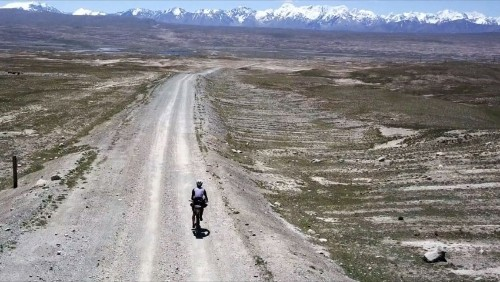Pedaling Kyrgyzstan's Silk Road
