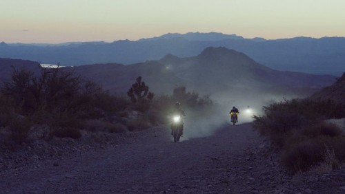 500 Miles Through the Southwest on Motorcycles