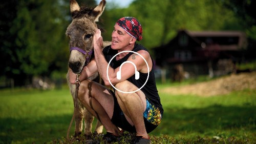 Outside Podcast: 'Born to Run'—with a Donkey