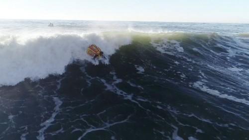 Bodysurfing Nazaré