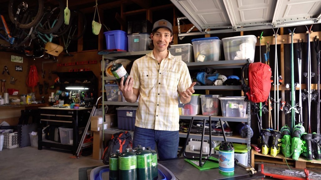 Video: Make Your Camp Stove More Green with a Reusable Propane Tank