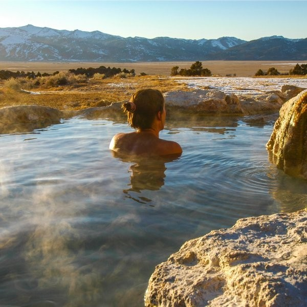 Where to Find the Best Après-Ski Hot Springs