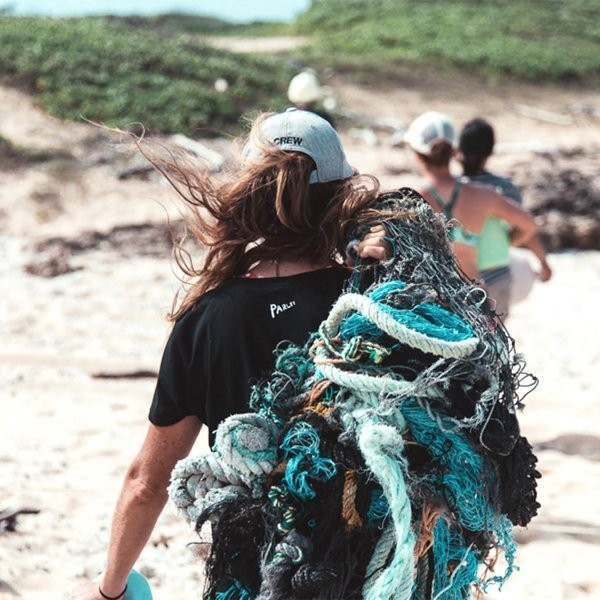 Turning Ocean Pollution into Trail-Running Shoes