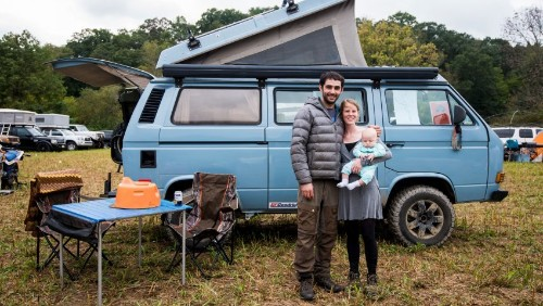 Inside a Diesel-Powered Vanagon Syncro