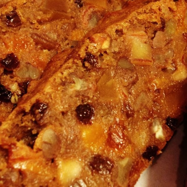 Chef Biju Recipes: The Athlete's Fruitcake
