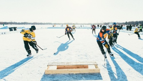 The Soul of Pond Hockey Is in Minnesota
