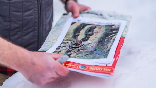 How to Use a Paper Map and a Compass