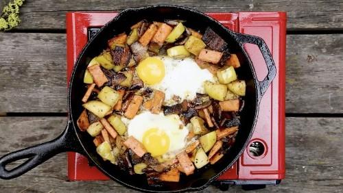 Apple Sweet Potato Hash Recipe