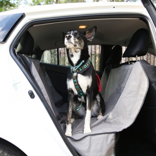 The Ruffwear Dirt Bag Seat Cover is Essential