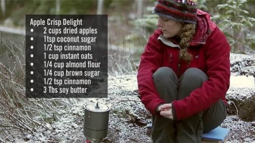 Apple Crisp - Cookin' It Backcountry