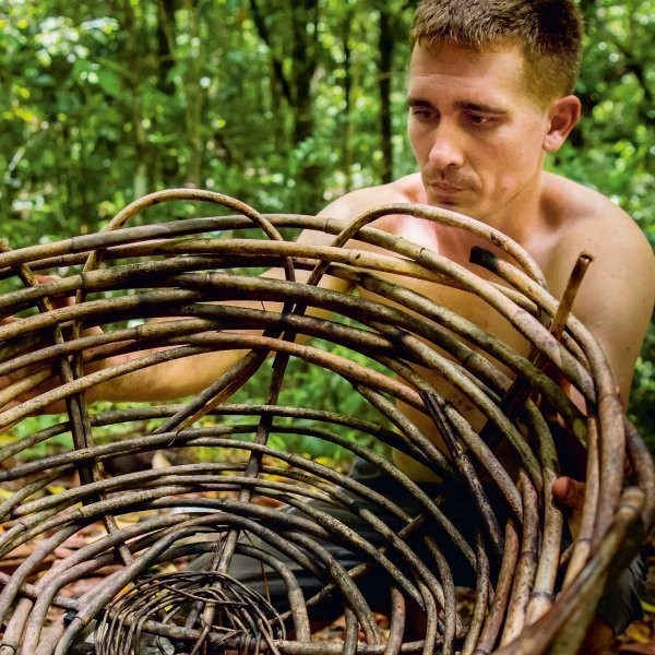 This YouTube Star Builds Elaborate Huts by Hand