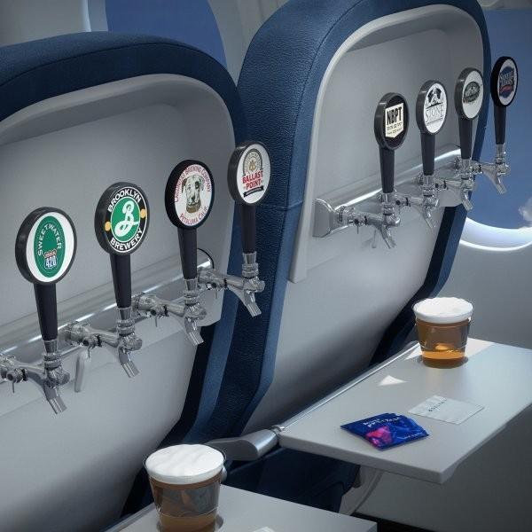 Craft Beers Take Flight on Delta