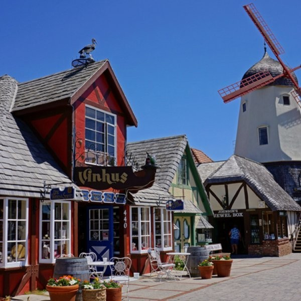 My Hometown: Beach Volleyball Player Todd Rogers on Solvang, California