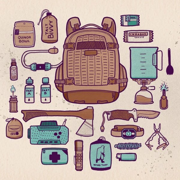 The Ultimate DIY Bug-Out Bag