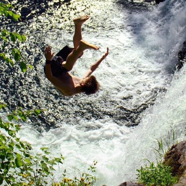 Waterfall Jumping Is the Next Cliff Diving