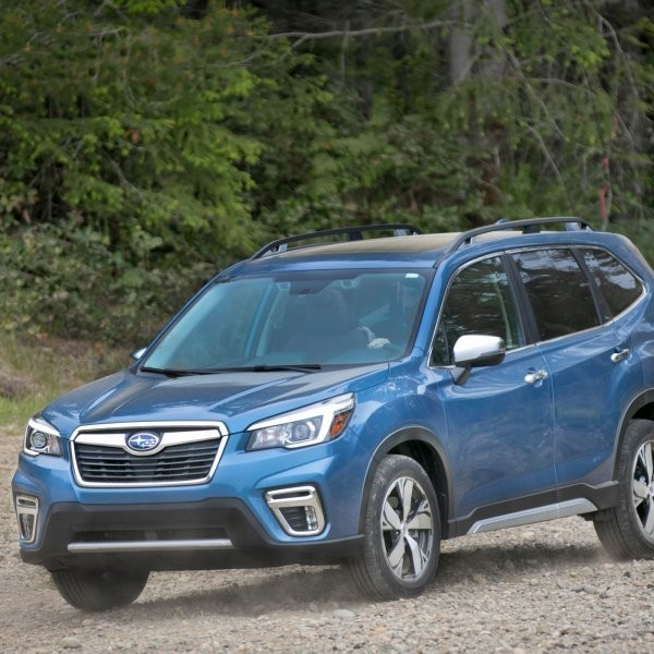 An Off-Road Review of the Subaru Forester Touring