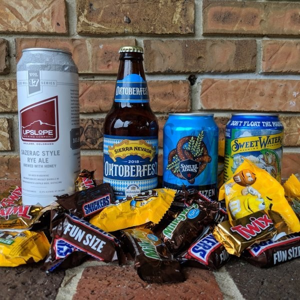 The Best Beer and Halloween Candy Pairings