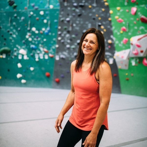 This 52-Year-Old Climbing Gym Pioneer Is Still Sending
