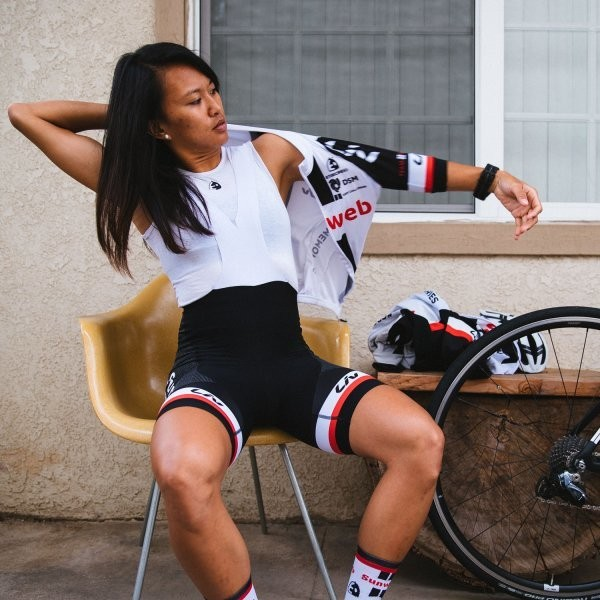How Pro Cyclist Coryn Rivera Balances the Essentials