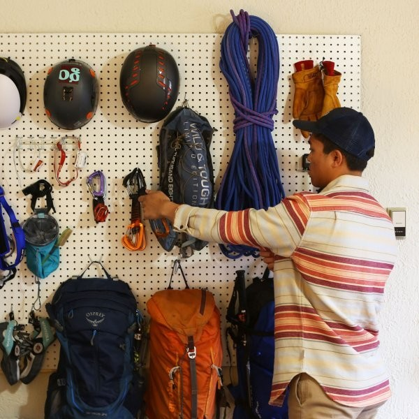 How to Organize Gear in a Small Space