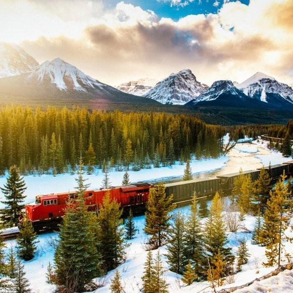 Ski Trips You Can Take on a Train