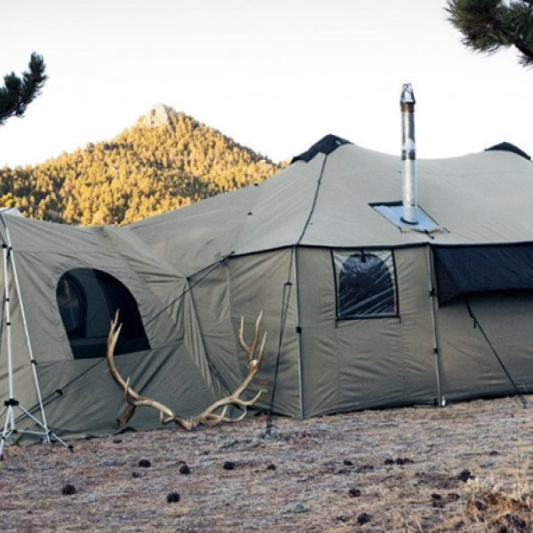 A Tent to Transform Base Camp