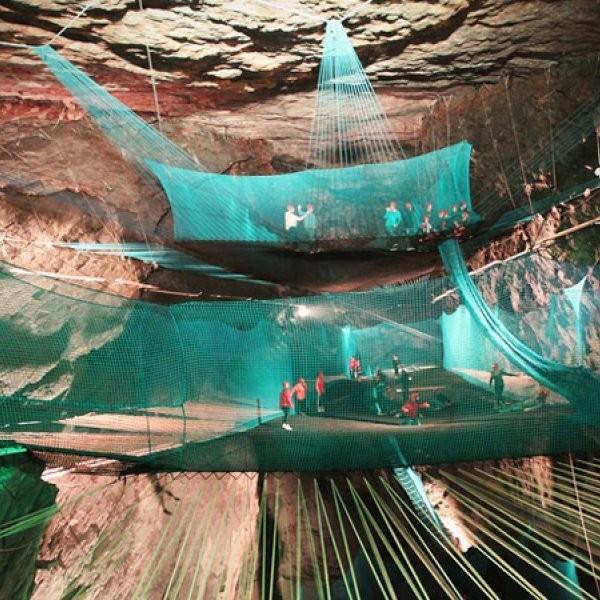 First Underground Trampoline Park Takes Off