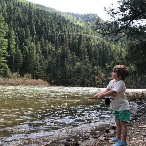 Teach Your Kids to Fly-Fish