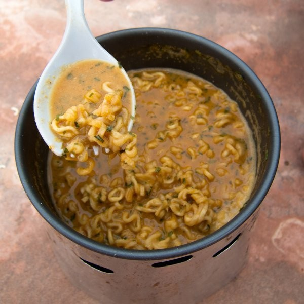 Backcountry Dinner Recipe: Peanut Noodles