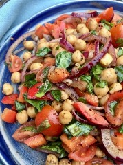 Discover spinach salad