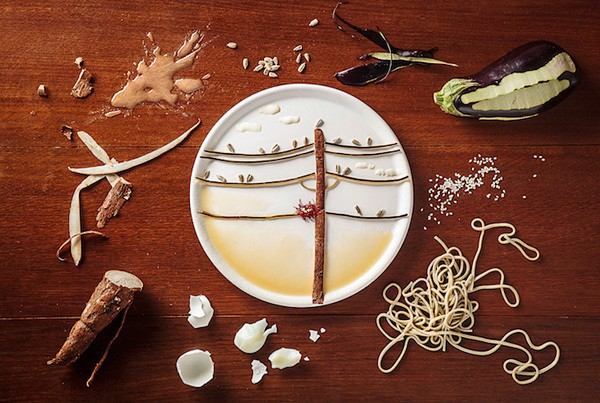 食物的艺术 - Magazine cover