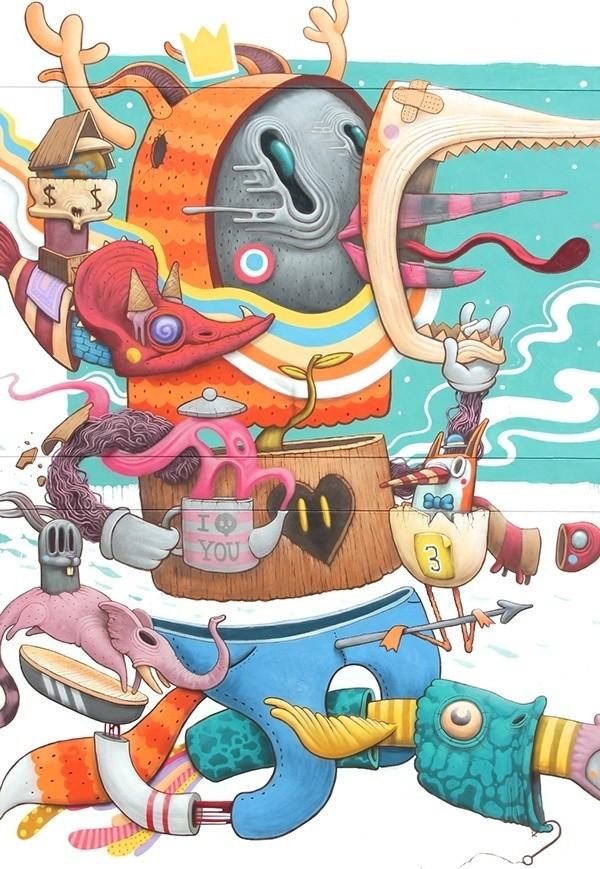 杂 - Magazine cover