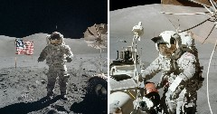 Discover on moon
