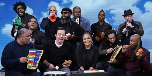 "Watch Janet Jackson and the Roots Perform ""Runaway"" on Classroom Instruments"