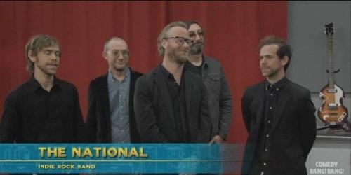 """The National Star as Music Teachers on """"Comedy Bang! Bang!"""""""