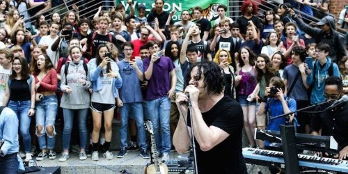 Watch Jack White Play Surprise Concert at High School