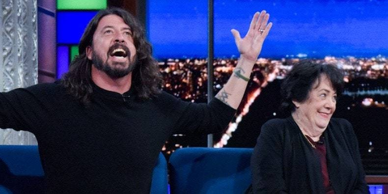 Dave Grohl and His Mom Producing New TV Show About Rock Stars' Moms