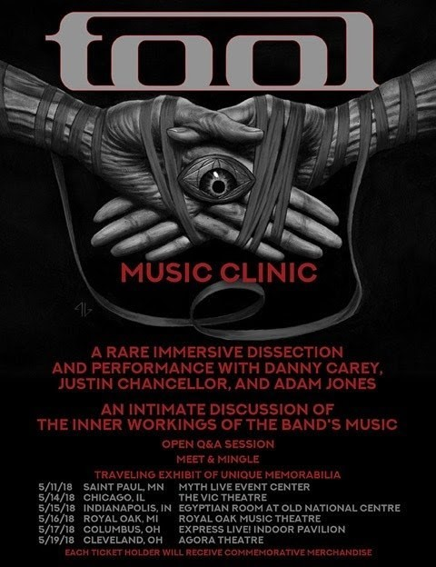 Tool Will Teach You How to Play Their Songs on New Tour